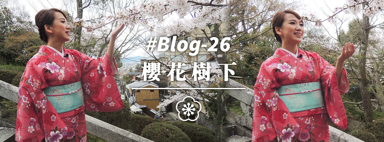 #Blog-26 櫻花樹下